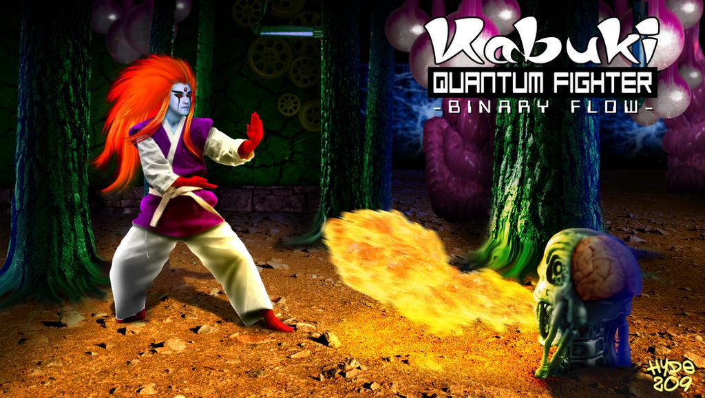 Kabuki Quantum Fighter - Quantum Mechanics by Hyde209