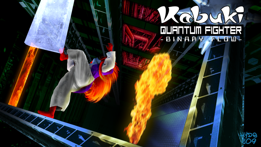 Kabuki Quantum Fighter - Using the Backdoor by Hyde209