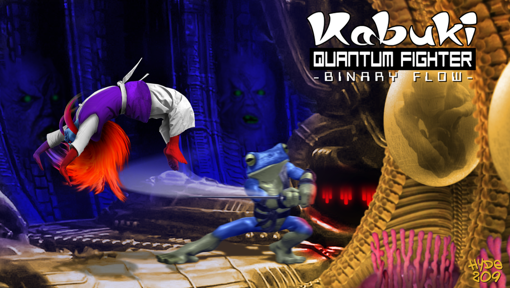 Kabuki Quantum Fighter - Alien Intruder by Hyde209