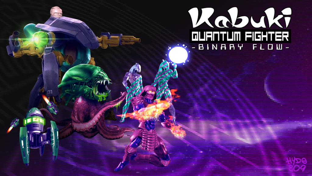 Kabuki Quantum Fighter - Major Virus Infection by Hyde209