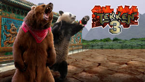 Tekken 3 - Kuma and Panda by Hyde209