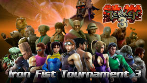 Tekken 3 - Iron Fist Tournament 3 Group Picture