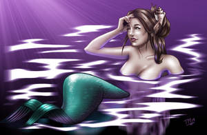 Worried Mermaid