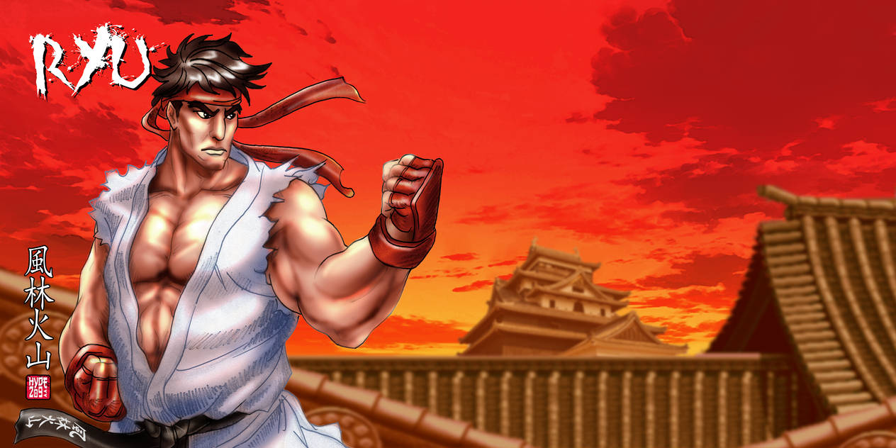 Street Fighter II - World of Warriors Ryu by Hyde209