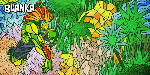 Street Fighter II - World of Warriors Blanka