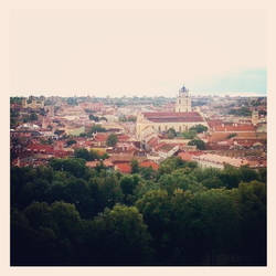Vilnius Old Town by Dausius