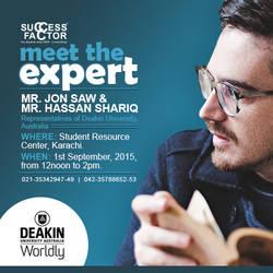 Meet the Expert - Deakin University by kanzasid