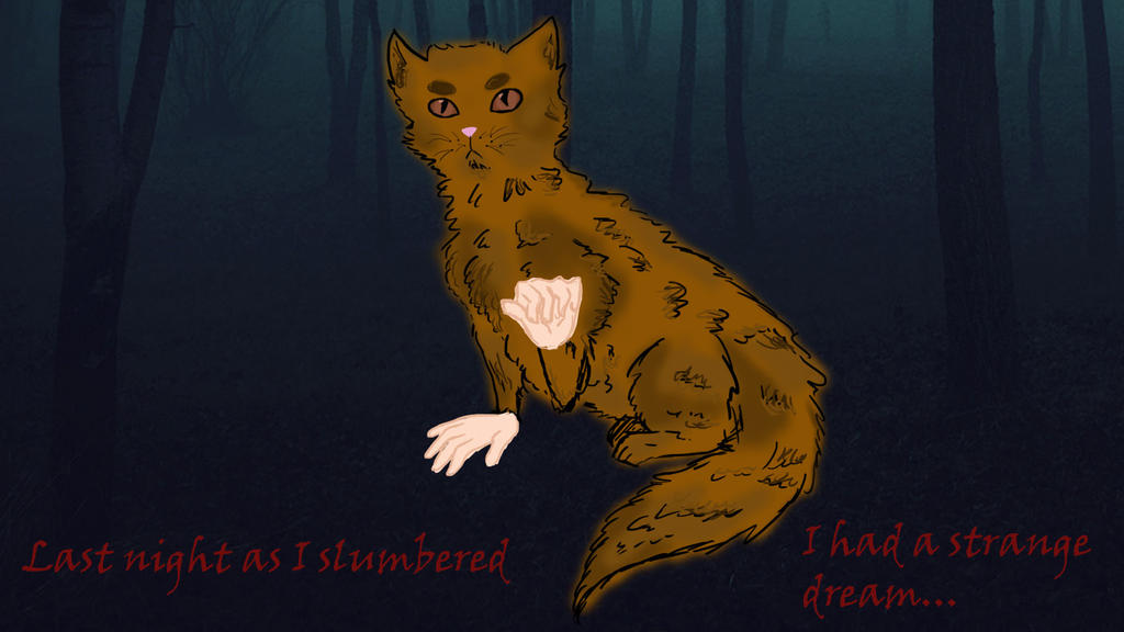Cat with Hands by quintaPanna
