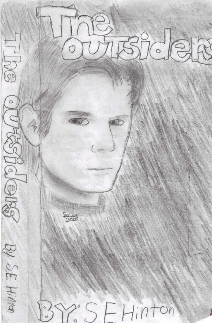 The Outsiders Drawing Ponyboy