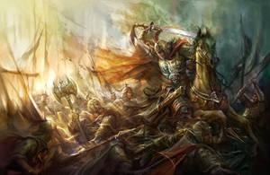 Invincible warrior by derrickSong