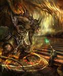 Awakeing monster by derrickSong