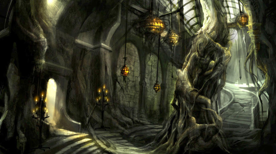 Environment conceptart by derrickSong