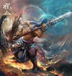 Fate Hunter OL Illustrations_hero_wuchan_var2