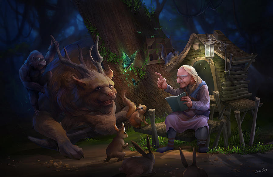 Story telling by derrickSong