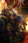 Dynasty Warrior Fanart - Lu Bu