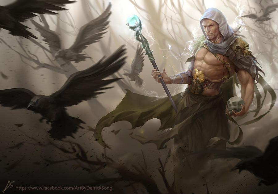 Warlock-low by derrickSong