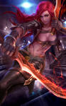 League of legends - Katarina fanart