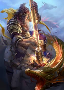 Wukong fanart
