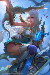 Grandblue fantasy - Zooey fanart by derrickSong