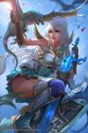 Grandblue fantasy - Zooey fanart