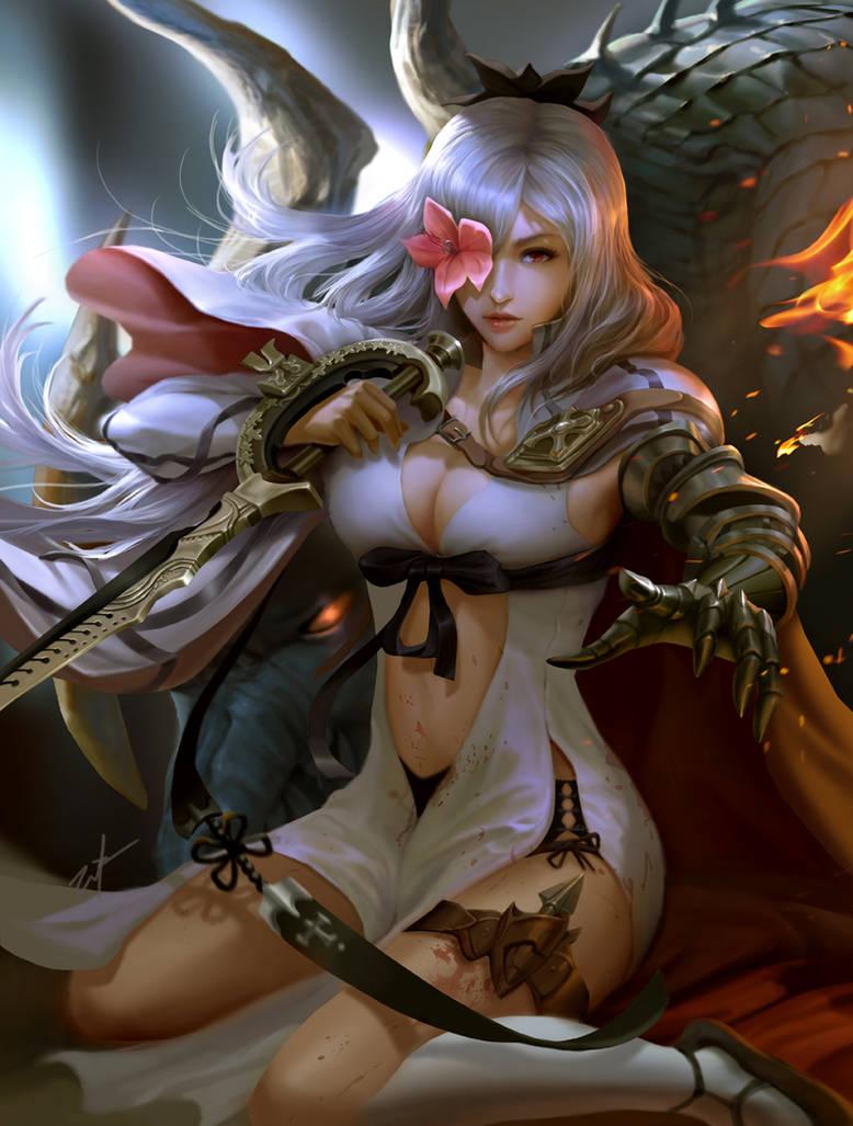 Drakengard Zero fanart by derrickSong