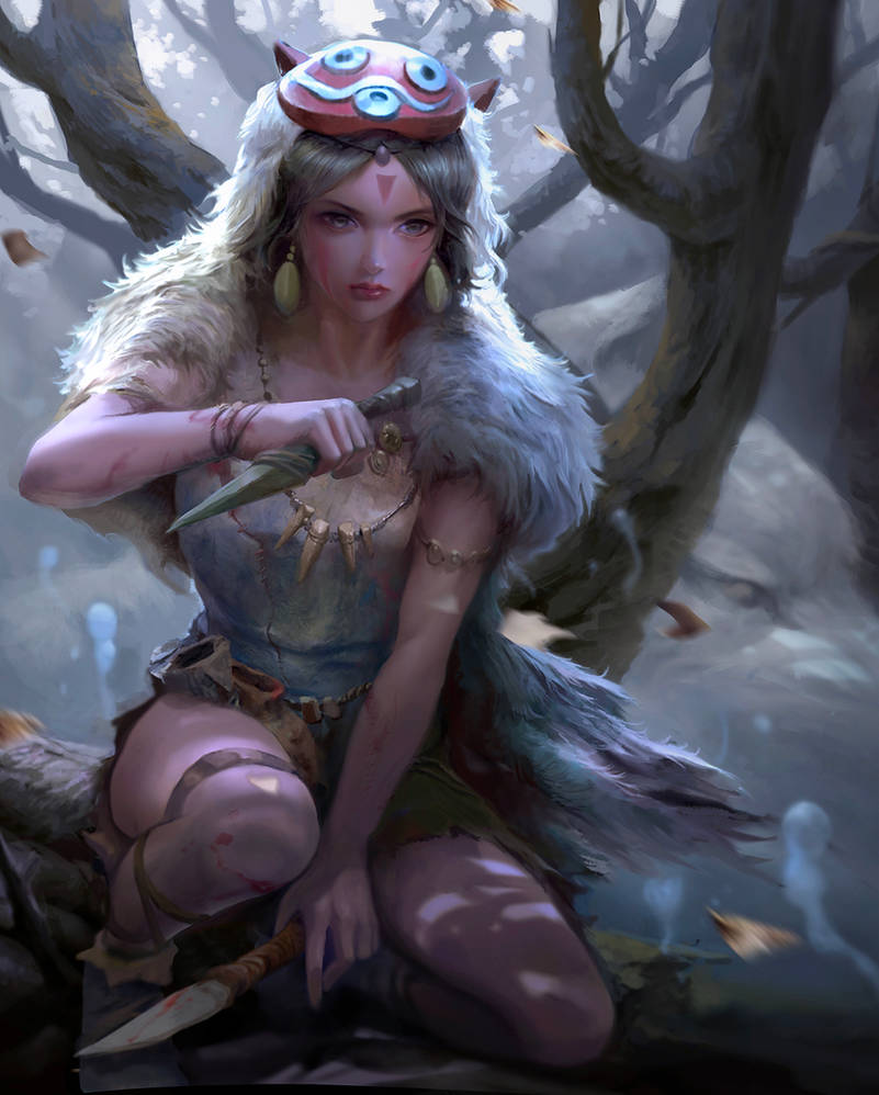Princess Mononoke by derrickSong