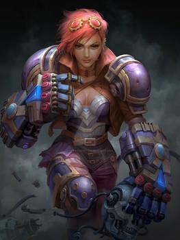 League of legends - Vi fanart