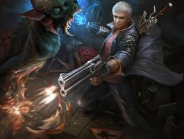 Devil May Cry 5 Nero Fanart