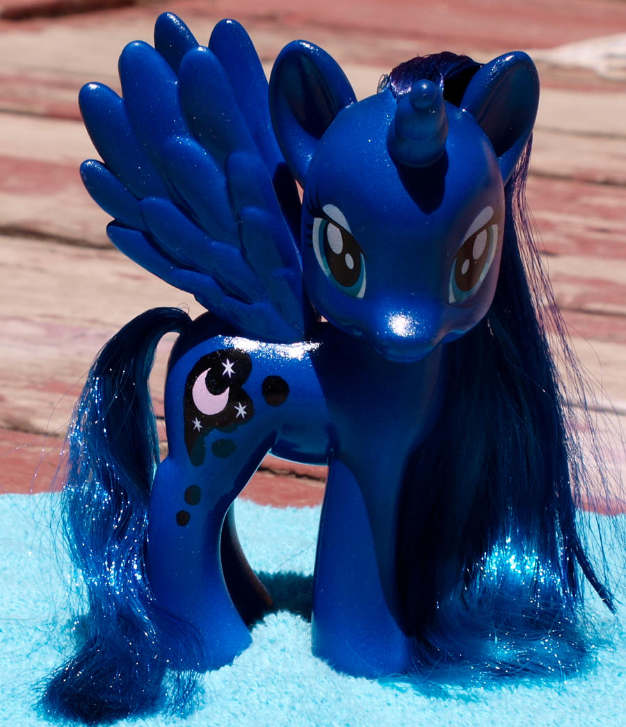 Princess Luna Fashion Pony Custom by Agony-Roses