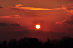 Blood red sunset 2 by ali-cato