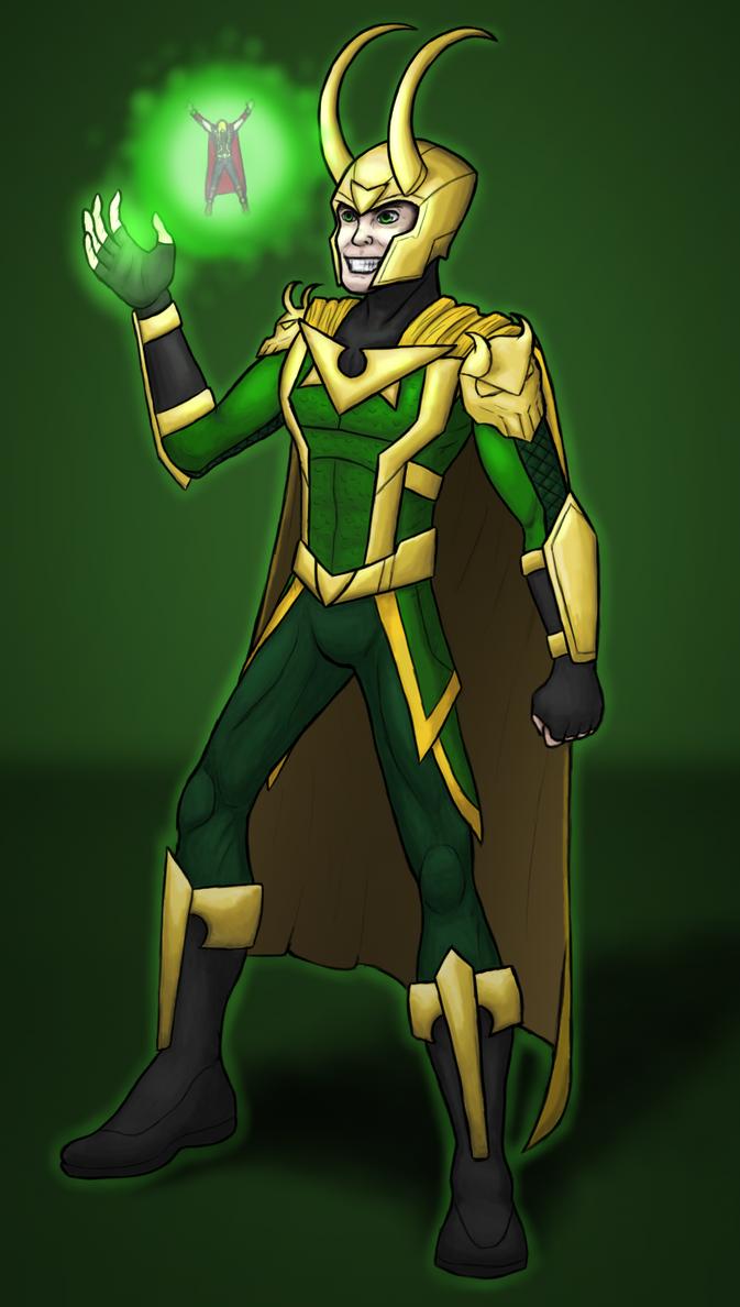 Loki by ramisirote