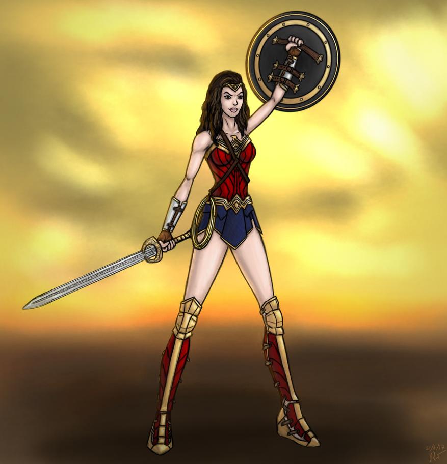 Wonder Woman - 2017 by ramisirote