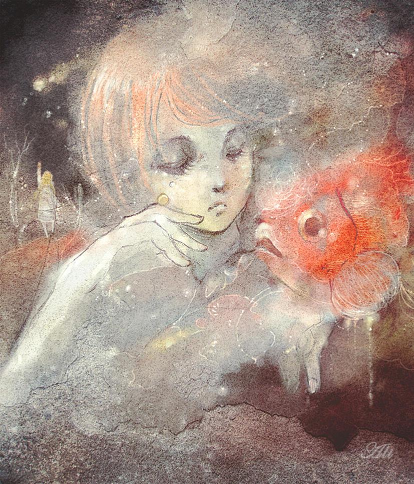 Little Mermaid by Ali-ly