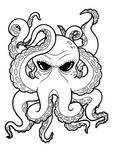 octopus outline