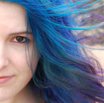 Blue Hair In the Wind