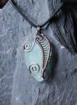 Sea Glass Pendant #9