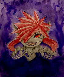 Monster Sora by TheTeenWitch