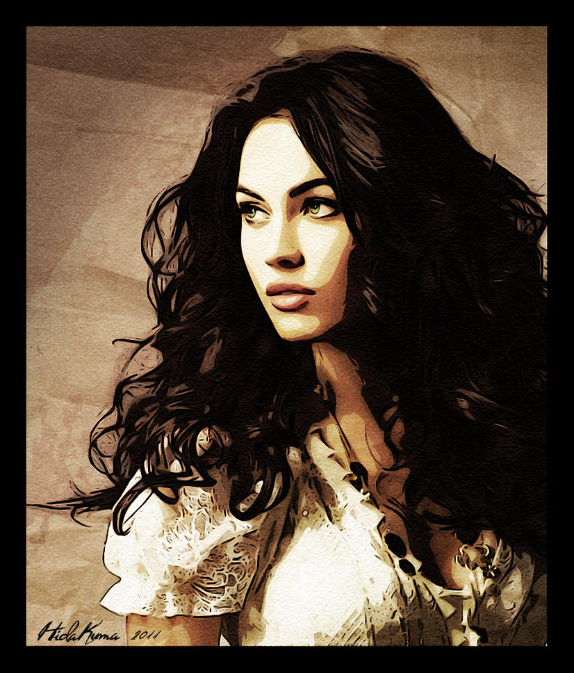 Megan Fox as Amelista by HidaKuma