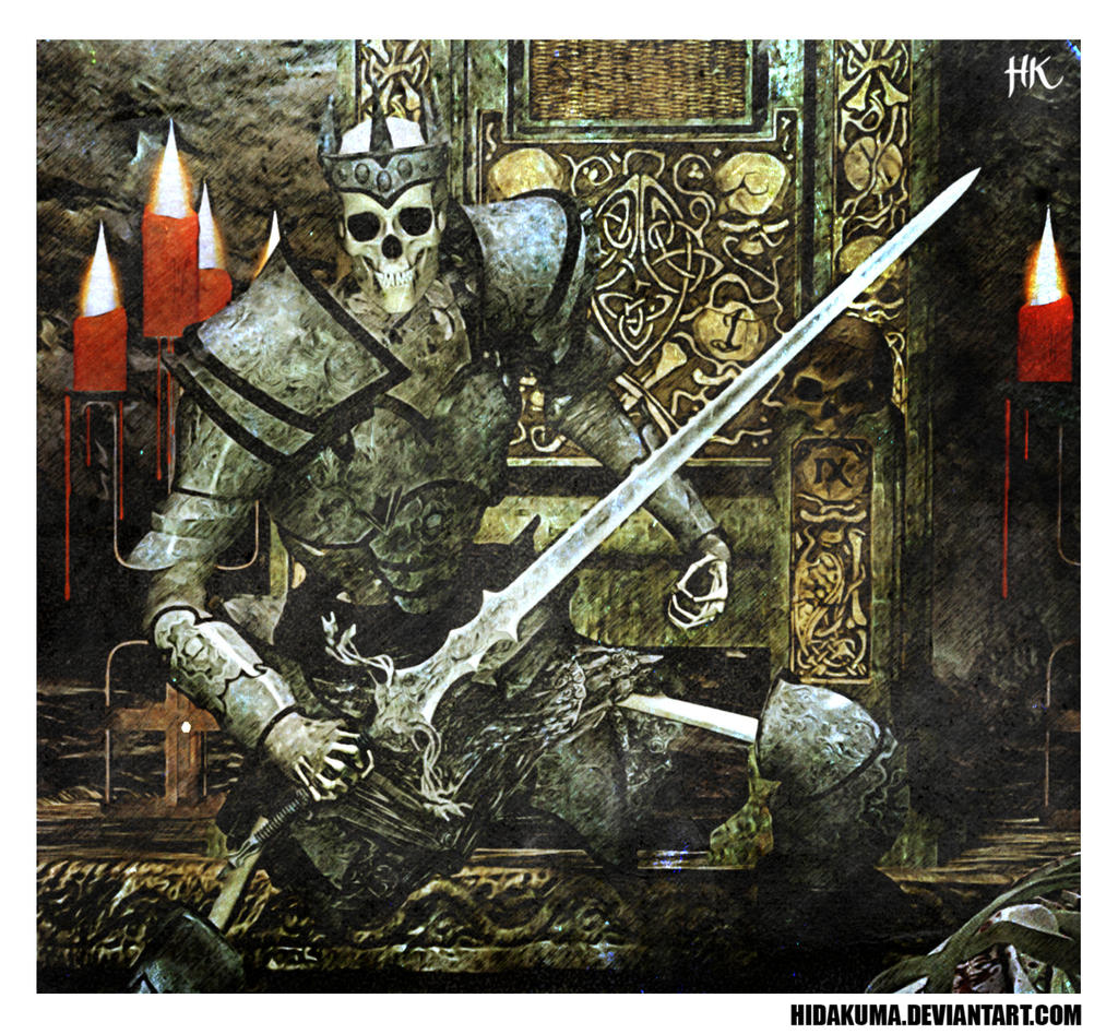 Skeleton King by HidaKuma