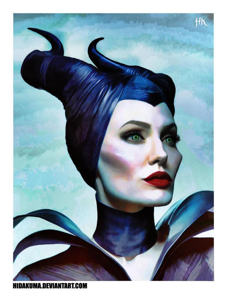 Maleficent by HidaKuma