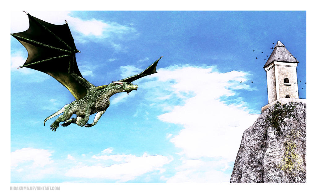 Flying Dragon By HidaKuma On DeviantArt