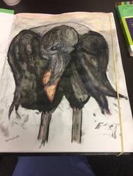 Crow No. 4: Liver / Concept (2017)