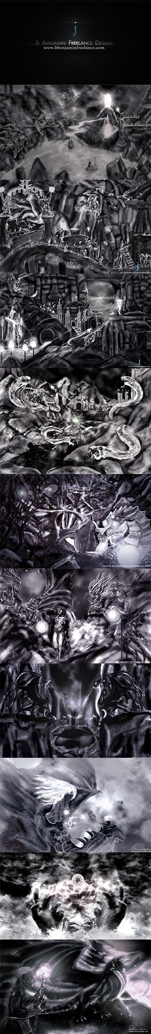 Ritual Serires (in order) by ZirBenjamin