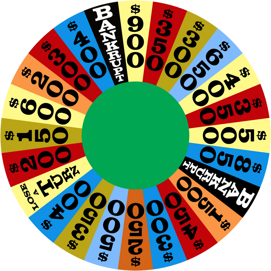Wheel Of Fortune Game Template For Powerpoint