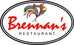 Brennan's restaurant gift tag by wheelgenius