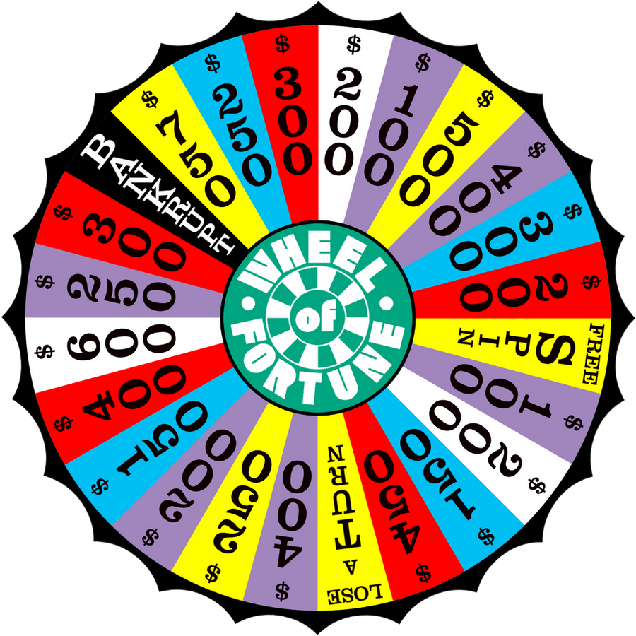 wheel of fortune board template - tyco wof spinner by wheelgenius on deviantart