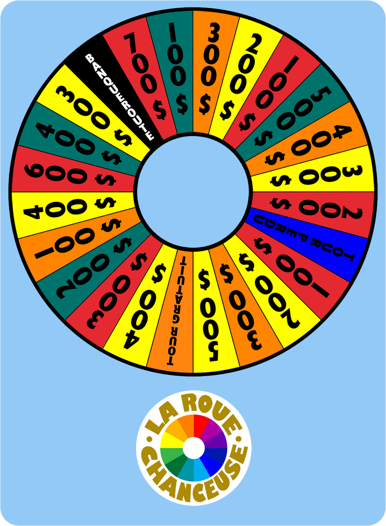 La Roue Chanceuse spinner - Junior edition by wheelgenius