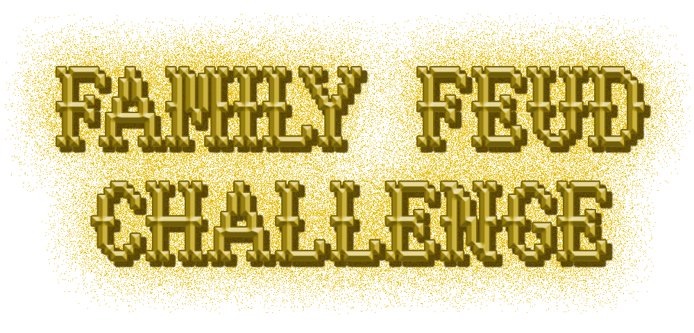 Family Feud Challenge logo by wheelgenius