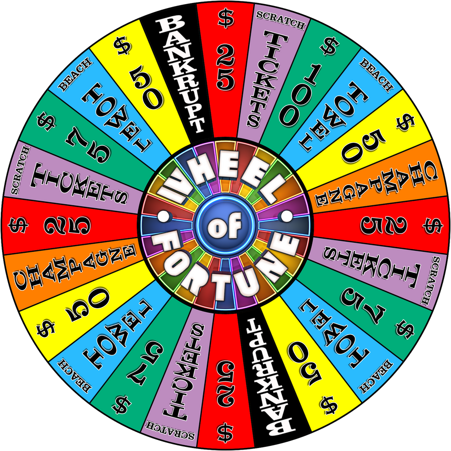 Carnival Cruise Wheel 2 by wheelgenius