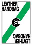 Leather handbag prize card